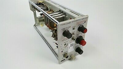 Tektronix Type 2a61 Differential Amplifier - Tube