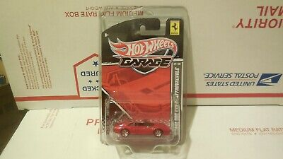 2011 HOT WHEELS GARAGE FERRARI 308 GTS QUATTROVALVOLE 1/64 VHTF WITH PROTECTO