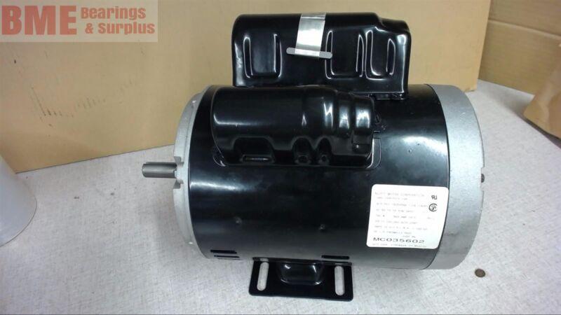 Us Motors, Mc035602, 2 Hp Compressor Duty Motors, 120/240 Volts, 56 Fr, 3450 Rpm