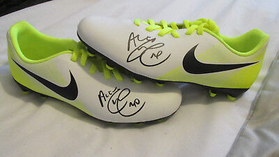 Signed Alex Teixeira Pair of Nike Football Boots w/ Exact Proof! Brazil