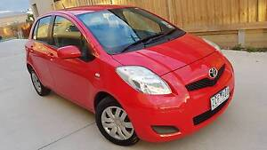 2011 Toyota Yaris Hatchback Automatic Low kms REG+ RWC+WARRANTY Coburg North Moreland Area Preview