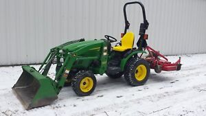 John Deere 2320/Loader /Mower