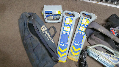 Radiodetection Cat3v Cable Locator Genny 3 Rd4000 In Cases