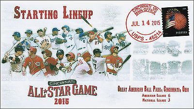 2015, Baseball All Star Game, Cincinnati Oh,  Local Cancel, 15-177