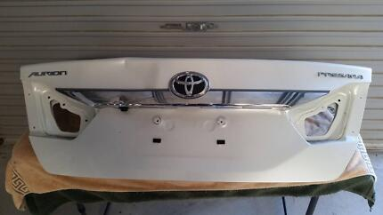 2013 Toyota Aurion Boot Lid - Colour Crystal Pearl Code 070 Charlestown Lake Macquarie Area Preview