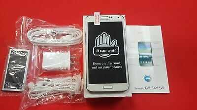 Brand New Samsung Galaxy S5 SM-G900A AT&T- GSM Unlocked 16GB Shimmery White