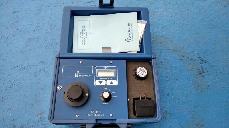 HF Scientific DRT-15CE Portable Turbidimeter for Turbidity Testing NEW portable