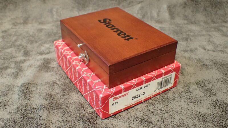"""951 / 20ZZ-3 STARRETT Wood Case 3"""" x 5"""" x 1-1/4"""" for 20 Master Precision Square"""