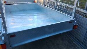 8x5 Galvanized trailer new heavy duty 1mtr cage if avail. Dapto Wollongong Area Preview
