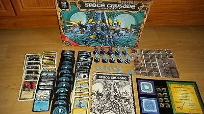 Eldar Attack Space Crusade - 100% complete; great condition unpunched [ENG,1991]