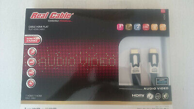 Real cable Flat Hdmi 7.5m HD-E-ONYX Ultra Flat and Flexible UVP:150euro