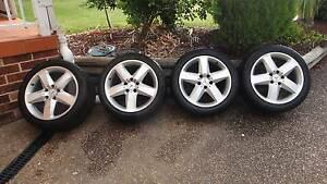 Mercedes SLK 350 rims &tyres Jannali Sutherland Area Preview