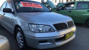 2003 Mitsubishi Lancer ES Sedan ! Fully Serviced & Inspected !! Granville Parramatta Area Preview
