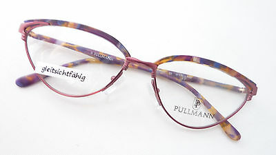 Brillenfassung Katzenaugen frame eyeglasses rosé size M (Katze Auge Frames)