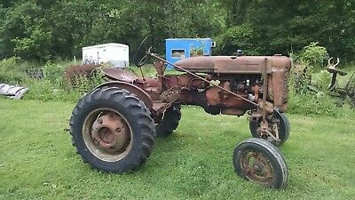 Farmall International 130 Tractor All Fuel Tractor Ie- 100 130 Ih Super A