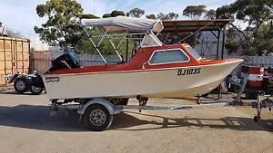 Stejcraft Burwood 4.5 Metre Fishing Boat Smithfield Playford Area Preview