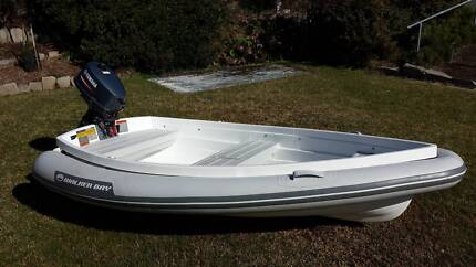 Walker Bay 8' Dinghy with 4hp Yamaha Outboard Triabunna Glamorgan Area Preview