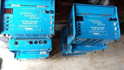 NATIONAL RAILWAY ERB-C 12/20 6/3A 115/230V 58-62Hz 1Ph Battery Charger