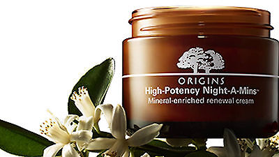 Origins High Potency Night A Mins Mineral Enriched Renewal Cream 1Oz 30Ml Fresh