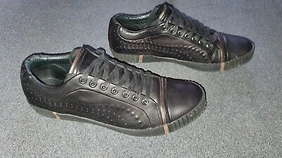 Puma ALEXANDER mcqueen Scarred ST trainers UK 8 EU 42 Black/Bronze