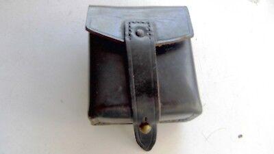 Munitions Tasche,Carabinieri, 9 x 7 x 3 cm, Leder