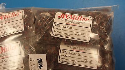 5 Pcs 06043-5 Jw Miller Fixed Inductors Coil