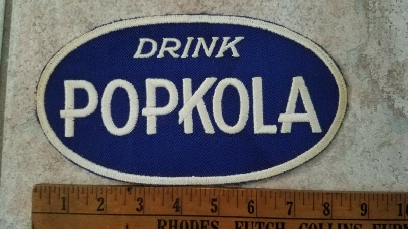 Rare Drink Popkola Soda Uniform Patch Pop Kola Vintage Cola