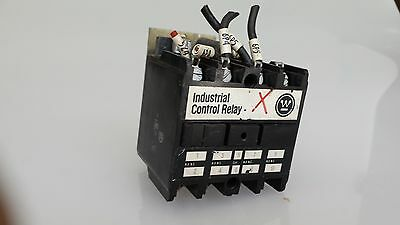 Industrial Control Relay Westinghouse