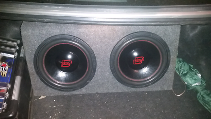 X2 12 inch subs in box