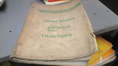John Deere 820 Diesel Tractor Service Manual