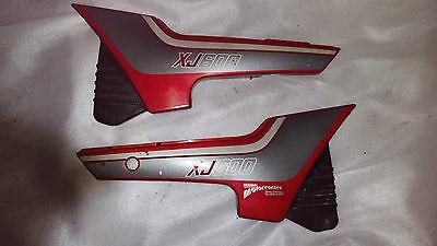 Seiten Abdeckung (Seitenteil Seitendeckel Abdeckung Links und Rechts Yamaha XJ 600 Typ 51J 3KN 3KM)