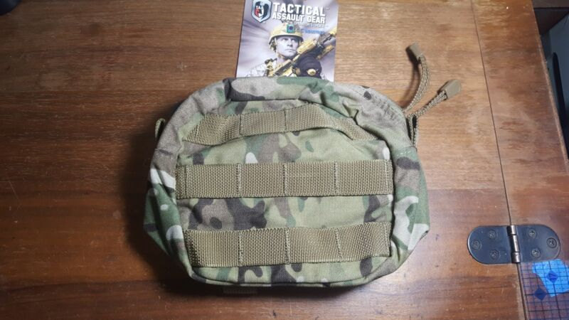 TACTICAL ASSAULT GEAR UTILITY POUCH MULTICAM  TAG SOFLCS GENERAL PURPOSE MOLLE