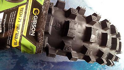 Gibson MX Reifen TECH 7.1 110/100-18 enduro 140 x 18 Zoll für KTM EXC WR FE TE