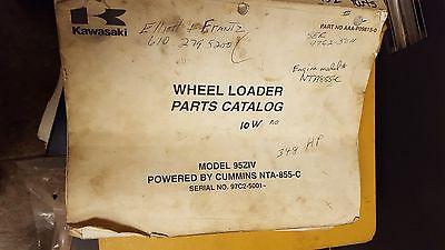 Kawasaki Wheel Loader 95ziv Parts Catalog
