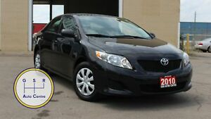 2010 Toyota Corolla BASE | LEATHER | POWER WINDOWS | CLEAN CARPR