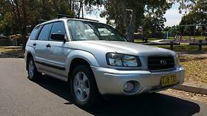 2004 SUBARU FORESTER XS LUXURY AUTOMATIC!! Bargain!! Lansvale Liverpool Area Preview