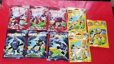 LEGO Mixels - Complete Series 1 - 9 Teslo Zaptor Volectro Zorch 41500, free ship