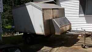 Lockable  trailer suitable for motorbikes Brassall Ipswich City Preview