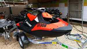 Seadoo spark 2016 8 hours 110hp Eppalock Bendigo Surrounds Preview