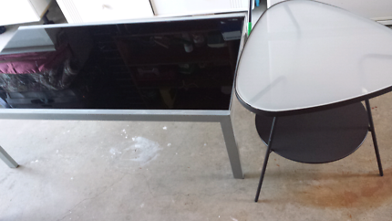 Coffee table, dining table &  2 side table set