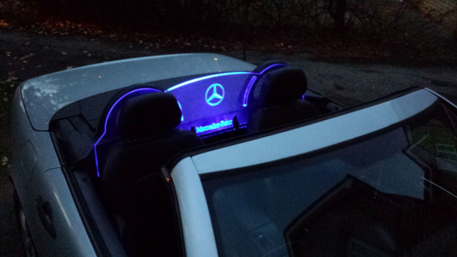 Led Kit For Engraved Perspex Wind Deflector For Bmw Z3 Z4