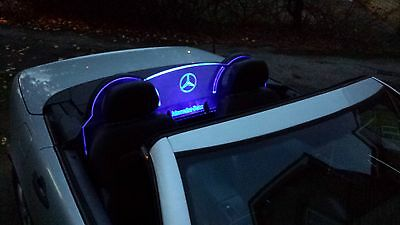 LED KIT FOR ENGRAVED PERSPEX WIND DEFLECTOR FOR MERCEDES SLK <</em>...