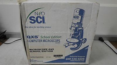 Lot Of 2 - Neosei Digital Blue Qx5 Computer Usb Microscope W Software Acc