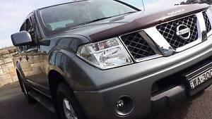 2012 Nissan Navara D40 Dual-Cab 4x4 - Slate Grey - 6 Speed Manual East Hills Bankstown Area Preview