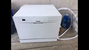Danby 6 Place Setting Portable/Countertop Dishwasher