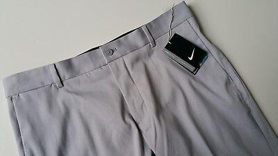 New Nike Modern Fit Chino Golf Pants, 833196-012, Wolf Grey ()