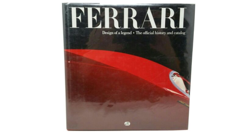 FERRARI: Design of a Legend: The Official History and Catalog History Photograph