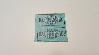 BSA, Two 1985 Jamboree Ten Cent Trading Post Coupons](Post Coupons)