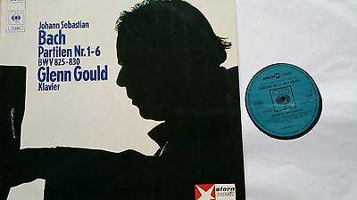 BACH Partiten Partitas 1-6 Glenn Gould 2 LP CBS 77289 NM