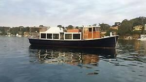 49 foot ex timber ferry with Gardner LXB diesel engine Cronulla Sutherland Area Preview
